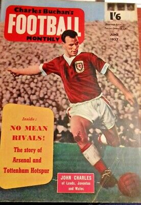 £12.95 • Buy Charles Buchan's Football Monthly June 1957 Issue 70.