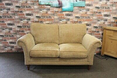 £899 • Buy Parker Knoll Burghley 2 Seater Sofa In A Gold Multi Fleck Fabric