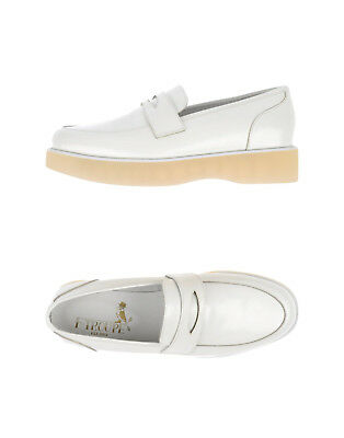 £71.91 • Buy NEW F-TROUPE White Leather Sneakers Slip On Loafers Size 38 7 7.5 DY629 NIB £150
