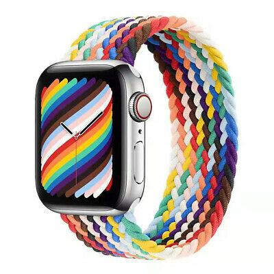 AU12.19 • Buy Compatible With Apple Watch Band 38mm 42mm 40mm 44mm Braided Solo Loop For Apple