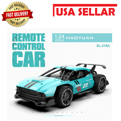 £23.62 • Buy RC Cars Radio Control Race Car Toys For Children 1:24 High Speed Electric Mini