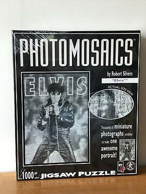 £9.99 • Buy Photomosaics, Elvis, 1000 Piece Puzzle By Robert Silvers, New Factory Sealed