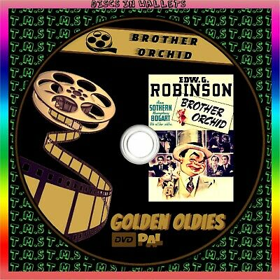 £2.90 • Buy Brother Orchid 1940s ‧ Black And White/Drama Edward G. Robinson