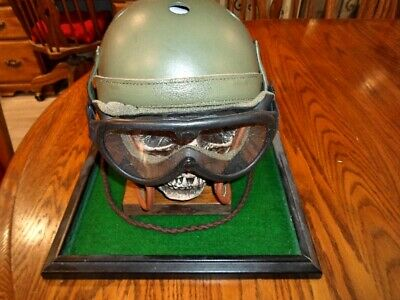 $195 • Buy  Best Replica Available Today WWII M 38 Tanker Helmet, Goggles And Ear Phones