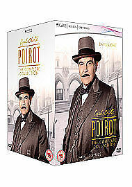 £65.99 • Buy Agatha Christie's Poirot - Complete Collection   Series 1-12    New