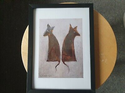 £6.99 • Buy L.s Lowry  The Dogs  Framed Print