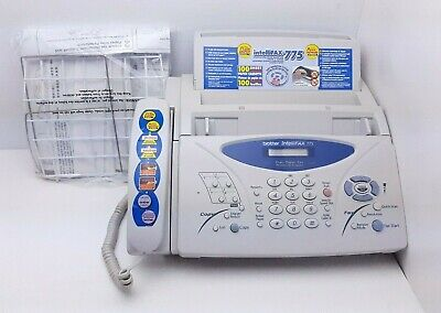 £51.83 • Buy Brother IntelliFAX 775 Plain Paper Thermal Transfer Fax Machine W Phone Copier