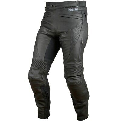 £199.99 • Buy New Weise Hydra Waterproof Armoured Leather Jeans Size Uk 34 / Eur 52 Rrp £350
