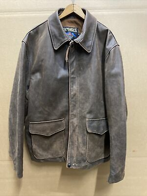 £254.51 • Buy US Wings Horsehide Indy-Indians Jones Style Jacket Size Large/extra Xl Long