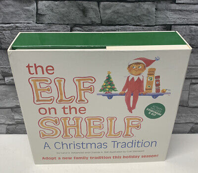 AU46.69 • Buy The Elf On The Shelf (Boy) A Christmas Tradition Book And Doll Blue Eyes