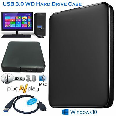 £5.49 • Buy USB 3.0 2.5 Inch Hard Drive Enclosure SATA SSD HDD Case Caddy For PC LAPTOP DVR