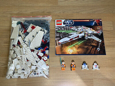 £49.95 • Buy Lego Star Wars X-Wing Starfighter With Instructions