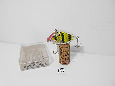 $ CDN34.38 • Buy Boxed Vintage South Bend Optic Fishing Lure Plug - New Old Stock (15)