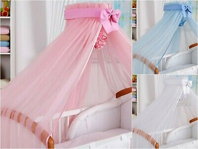 £5.99 • Buy CANOPY Drape To Fit Baby Cot /Swinging Crib/Cradle/Basket/480cm Wide! S A L E!!!