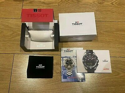 £19.49 • Buy Genuine Original Tissot Swiss Watch Box Complete With Booklets, Cloth And Sleeve