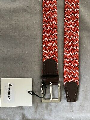 £39.99 • Buy Mens Anderson's Belt. Brand New With Tags. Marked 105cm