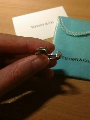 £120 • Buy Tiffany & Co. Paloma Picasso Open Heart Silver Ring