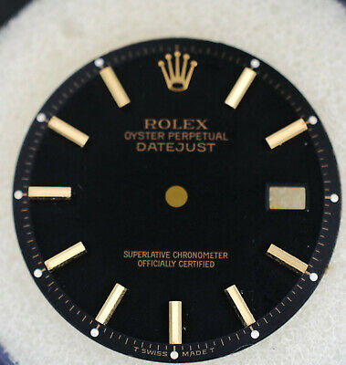 $ CDN113.30 • Buy Rolex Dial For Rolex Datejust 1603, Non Quick Set For Two Tone Watch Vintage