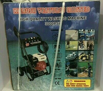 £175 • Buy 3000 Psi Petrol Pressure Washer Petrol Power Jet Cleaner Heavy Duty Washer
