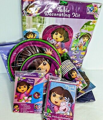 £21.38 • Buy Dora The Explorer Party Pack For 8 Guests