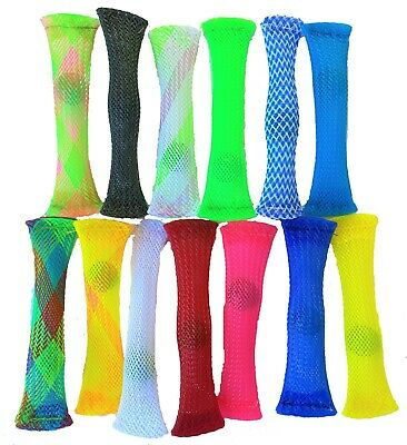 £1.99 • Buy Mesh & Marble Fidget Stress Anxiety Relief  Soothing Sensory Tube