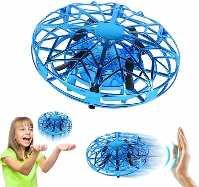 AU37.95 • Buy ZeroPlusOne Hand Operated Drones For Kids Or Adults Air Magic Scoot Hands (Blue)