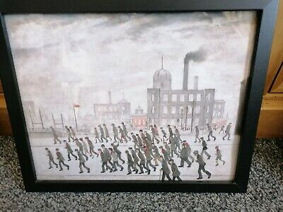 £6.99 • Buy L. S. Lowry  Going To The Rugby Match   Framed Print