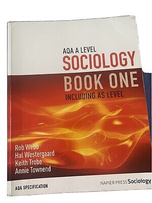 £10 • Buy AQA A Level Sociology Book One - Good Condition