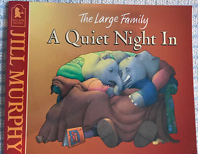 £2.99 • Buy A Quiet Night In By Jill Murphy The Large Family Paperback Book