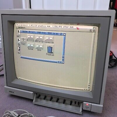 £180 • Buy Commodore Amiga 1081 Colour Monitor For Retro Gaming, Tested & Working
