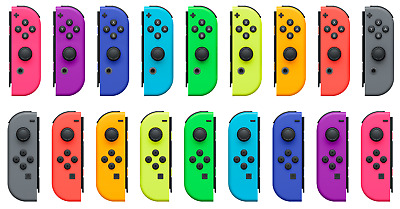 $29.99 • Buy Genuine OEM Nintendo Switch Joy Con Controller Left Or Right Various Colors Used
