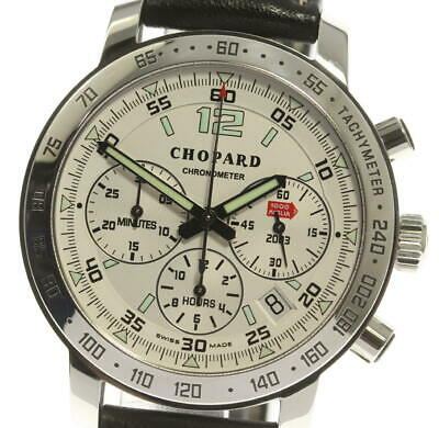 £2034.69 • Buy Chopard Mille Miglia 16/8932 Chronograph Ivory Dial Automatic Men's Watch_548975