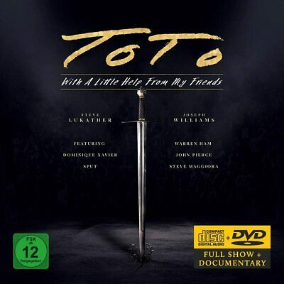 £14.13 • Buy TOTO - With A Little Help From My Friends (Dvd/CD)[Region 2] Sent Sameday*