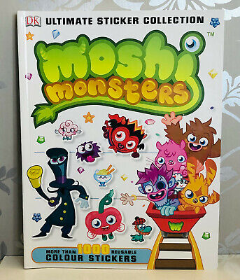 £9.99 • Buy DK Book Moshi Monsters Ultimate Sticker Collection Over 1000 Reusable Stickers!