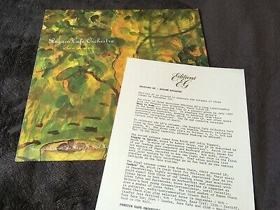 £29.99 • Buy Penguin Cafe Orchestra [EX] VINYL LP WITH PROMO PRESS SHEET When In Rome...