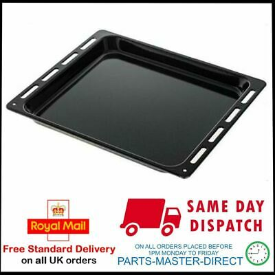 £13.99 • Buy UNIVERSAL ENAMELLED BLACK OVEN COOKER GRILL PAN DRIP TRAY 455mm X 370mm X 31mm