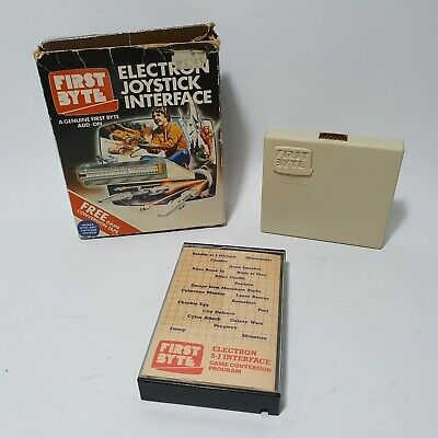 £64.99 • Buy Acorn Electron Joystick Interface First Byte Boxed W/Conversion Tape