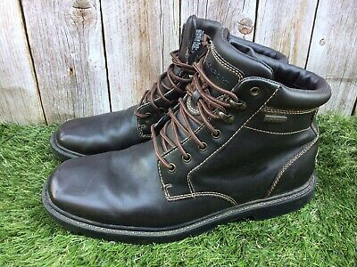 £24.95 • Buy Mens Rockport Hydroshield Waterproof Brown Leather Boots Size 9