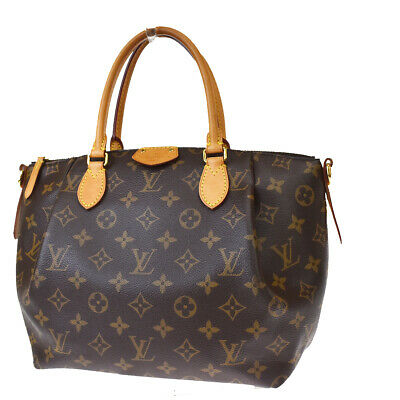 $1150 • Buy Auth LOUIS VUITTON Turenne PM Hand Bag Monogram Leather Brown M48813 25MH689