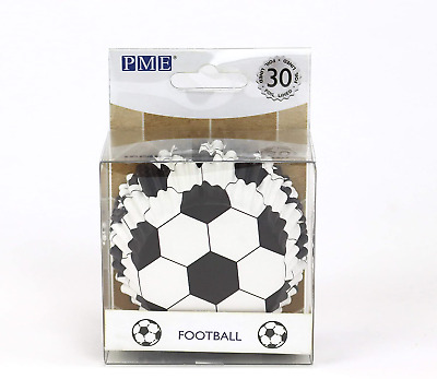 £3.97 • Buy PME BC829 Football Cupcake Cases, Foil Lined - 30 Pack