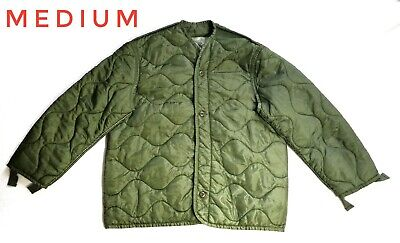 $27.50 • Buy 🔥Military M65 Quilted Foliage Green Cold Weather Field Liner Mens Women Medium