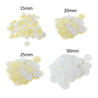 $3.50 • Buy 100Pcs Clear Invisible Round Double Sided Silicone Self Adhesive Dots Stickers