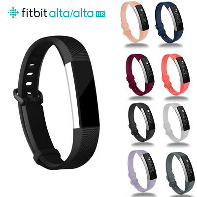 AU3.79 • Buy For Fitbit Alta, HR, ACE Strap Replacement Silicone Buckle Sport Wristwatch Band