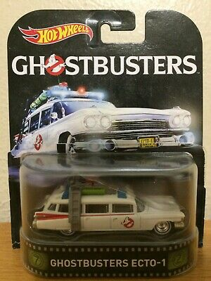 £8.63 • Buy Hot Wheels Ghostbusters Ecto-1 1/64th Scale Model--2015 Edition