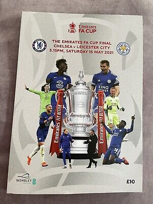 £12.99 • Buy FA Cup Final Programme Chelsea V Leicester 15-05-21