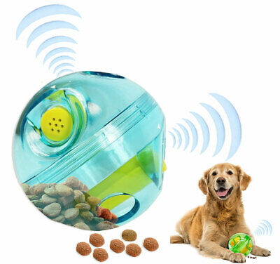 £9.99 • Buy Pet Dog GIGGLE TREAT DISPENSER BALL  Active Rolling Interactive Toy For Boredom