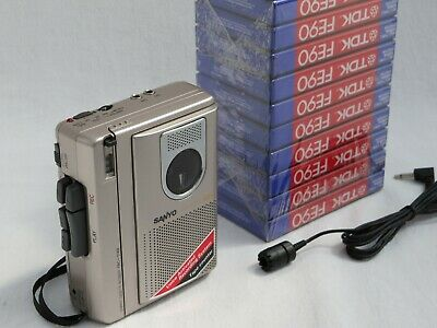 £40 • Buy Sanyo TRC-1148 Dictation Machine - Voice Activated Compact Cassette Recorder