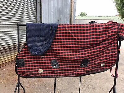 £85 • Buy 6ft3 Fal Pro 450g Turnout Rug With Detachable Neck Cover