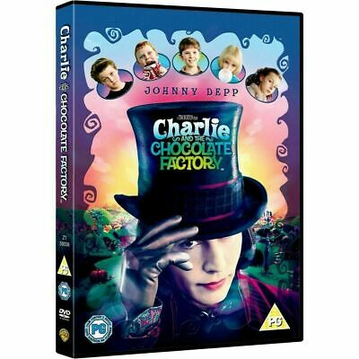 £2.99 • Buy Charlie And The Chocolate Factory DVD Brand New & Sealed Johnny Depp Region 2 UK