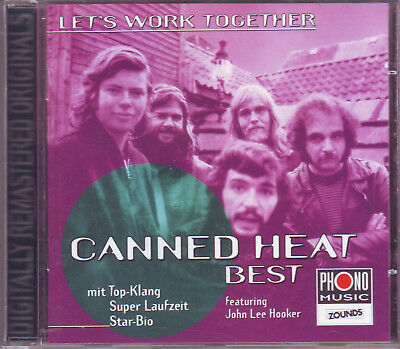 £9.35 • Buy ZOUNDS - CANNED HEAT - Let`s Work Together - Best - Rare Audiophile CD 1998